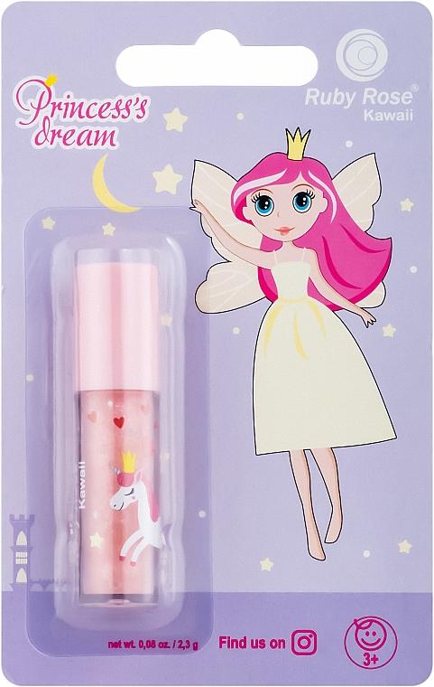 Детский нежный блеск для губ - Ruby Rose Princess's Dream
