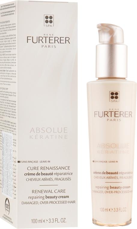 Восстанавливающий крем для волос - Rene Furterer Absolue Keratine Repairing Beauty Cream