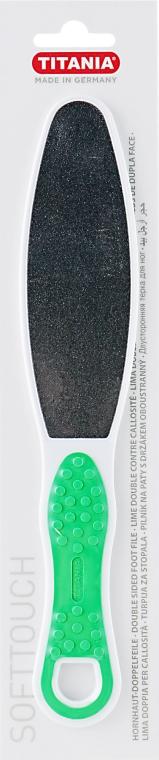 Titania - Терка педикюрная двусторонняя с ручкой, зеленая: купить по лучшей цене в Украине   Makeup.ua