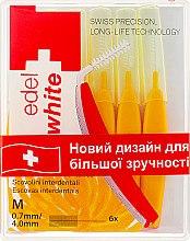 "Духи, Парфюмерия, косметика Щётки ""Profi-Line"" для межзубных промежутков M - Edel+White Dental Space Brushes M"