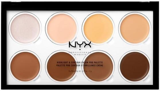 Кремовая палетка для контурирования лица - NYX Professional Makeup Highlight & Contour Cream Pro Palette