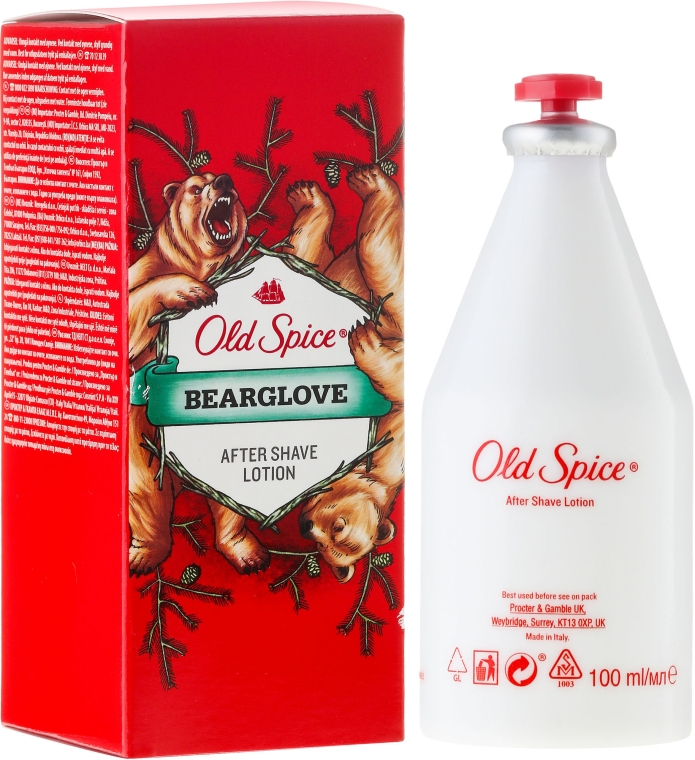 Лосьон после бритья - Old Spice Bearglove After Shave Lotion