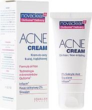Духи, Парфюмерия, косметика Крем для лица - Novaclear Acne Cream Oil-free