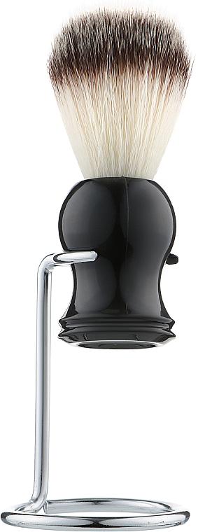 Помазок для бритья с подставкой, волос барсука, PP-04 - Beauty LUXURY