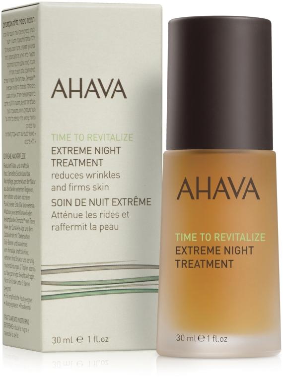 Крем ночной разглаживающий и повышающий упругость кожи - Ahava Time to Revitalize Extreme Night Treatment