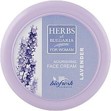 "Духи, Парфюмерия, косметика Крем для лица ""Лаванда"" - BioFresh Herbs of Bulgaria Nourishing Face Cream Lavender"
