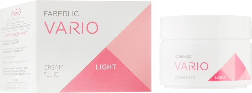 Лёгкий увлажняющий крем-флюид для лица - Faberlic Vario Cream-Fluid Light