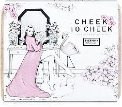 "Духи, Парфюмерия, косметика Набор для лица ""Cheek to Cheek"" - Everyday Minerals Cheek to Cheek 7 Piece Blush & Highlighter Palette"