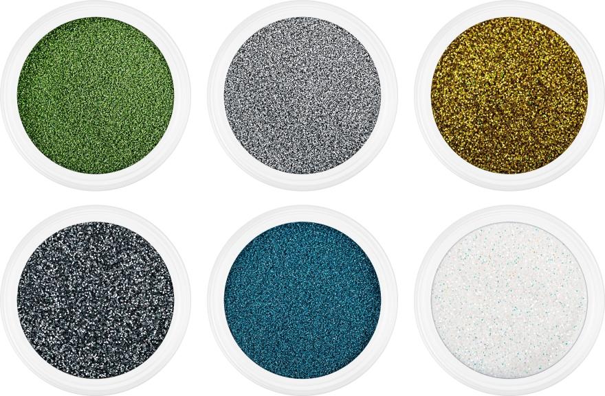 Набор блесток для биотату яркие - Mayur