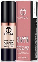 Духи, Парфюмерия, косметика Тональная основа для лица - O.TWO.O Black Gold Invisible Cove Fondation