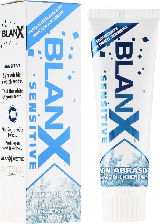 """Зубная паста """"Отбеливающая"""" для чувствительных зубов - Blanx Sensitive Teeth"""