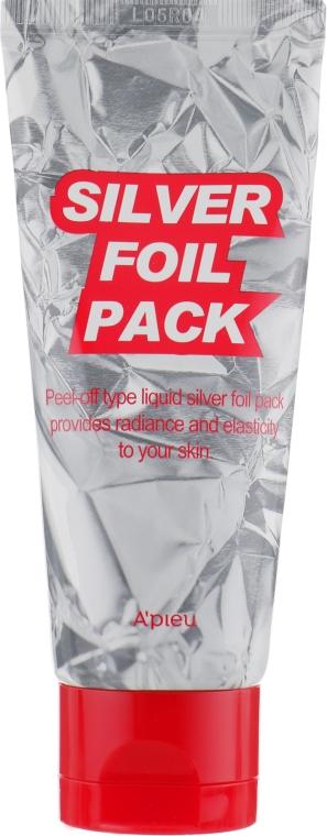 Серебряная маска-пленка - A'pieu Silver Foil Pack