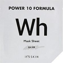 Духи, Парфюмерия, косметика Тканевая маска, выравнивающая тон - It's Skin Power 10 Formula Mask Sheet WH
