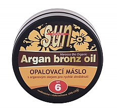 Духи, Парфюмерия, косметика Масло для загара - Vivaco Sun Argan Bronz Oil SPF 6