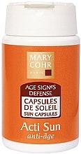 Духи, Парфюмерия, косметика Капсулы для усиления загара лица и тела - Mary Cohr Acti Sun Visage Et Corps