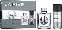 Духи, Парфюмерия, косметика La Rive Brave Man - Набор (edt/100ml + deo/150ml)