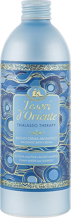 Гель-пена для ванны - Tesori d`Oriente Thalasso Therapy Aromatic Bath Cream