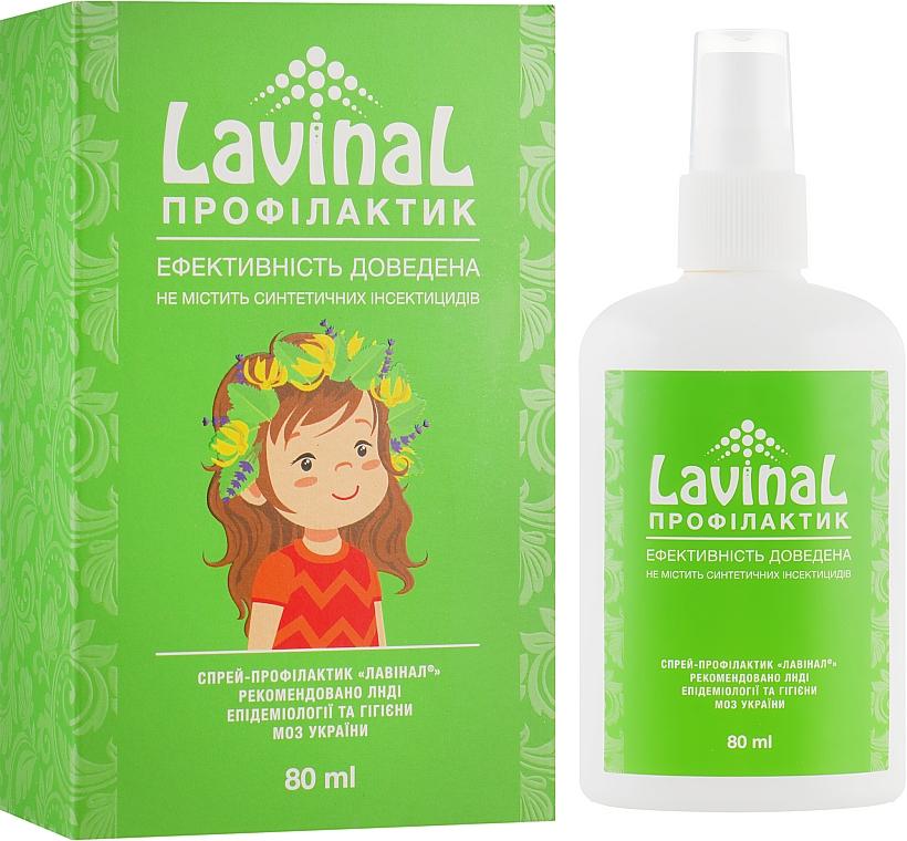 Натуральный спрей от вшей - Pro Pharma Lavinal Профилактик