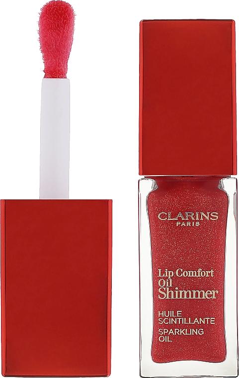 Мерцающее масло-блеск для губ - Clarins Lip Comfort Oil Shimmer