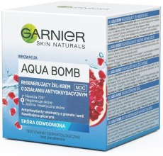 Духи, Парфюмерия, косметика Ночной крем-гель для лица - Garnier Aqua Bomb Super Night Gel-Cream