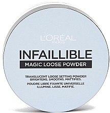 Духи, Парфюмерия, косметика Пудра рассыпчатая закрепляющая - L'Oreal Paris Infaillible Magic Loose Powder