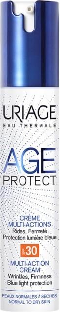 """Многофункциональный крем для лица """"Лифтинг+Увлажнение"""" - Uriage Age Protect Crème Multi-Actions SPF 30"""