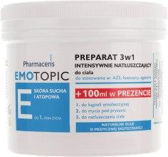 Препарат 3в1 для восстановления липидного слоя кожи - Pharmaceris E Emotopic Lipid-Replenishing Formula 3in1 — фото N2