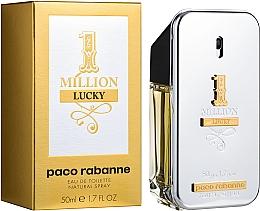 Paco Rabanne 1 Million Lucky - Туалетная вода — фото N2