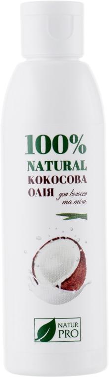 Кокосовое масло для волос и тела - NaturPro Coconut Oil