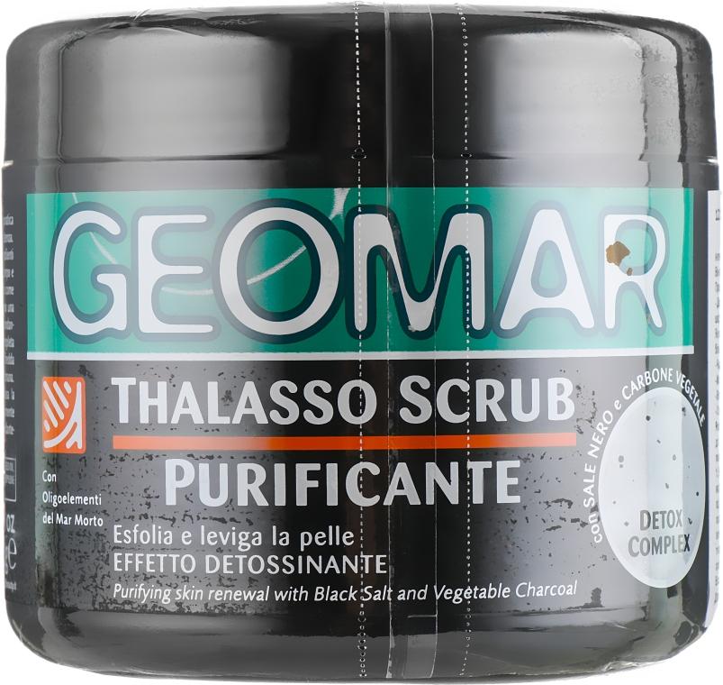 "Талассо-скраб для тела ""Морская соль и уголь"" - Geomar Thalasso Scrub Purificante — фото N1"
