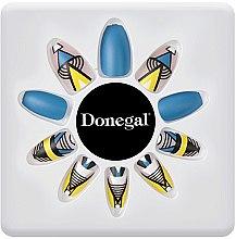 Набор искусственных ногтей с клеем, 3051 - Donegal Express Your Beauty — фото N2