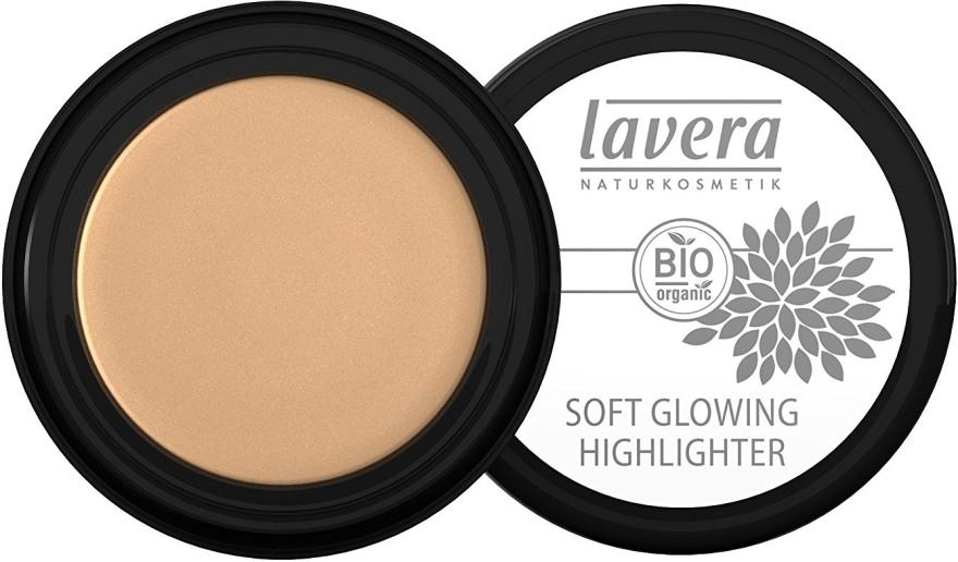 Хайлайтер для лица - Lavera Soft Glowing Cream Highlighter