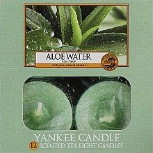 "Духи, Парфюмерия, косметика Чайные свечи ""Вода с алоэ"" - Yankee Candle Scented Tea Light Candles Aloe Water"