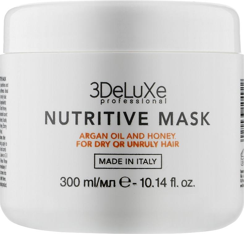 Маска для сухих и повреждённых волос - 3DeLuXe Nutritive Mask