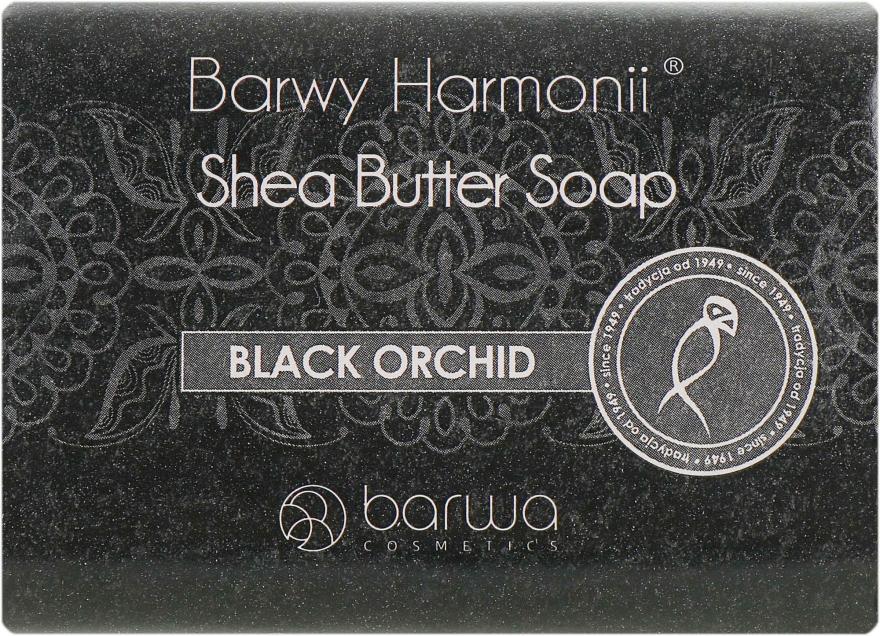 Мыло с экстрактом черной орхидеи - Barwa Harmony Black Orchid Soap