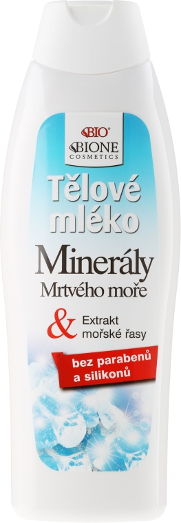 Молочко для тела - Bione Cosmetics Dead Sea Minerals Nourishing Body Milk