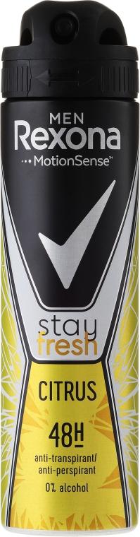 "Дезодорант-спрей ""Цитрус"" - Rexona Men Stay Fresh Citrus Deodorant Spray"