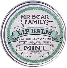 Духи, Парфюмерия, косметика Бальзам для губ - Mr. Bear Family Lip Balm Mint