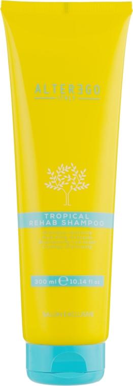 Увлажняющий шампунь после загара - Alter Ego Arganikare Tropical Rehab Shampoo