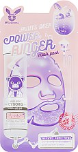 Духи, Парфюмерия, косметика Маска для лица Фруктовая - Elizavecca Face Care Fruits Deep Power Ringer Mask Pack