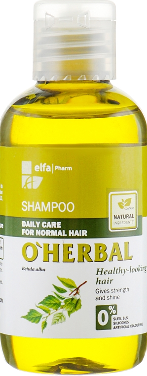 """Шампунь для нормальных волос """"Здоровый вид волос"""" - O'Herbal"""