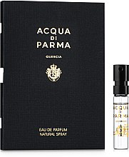 Духи, Парфюмерия, косметика Acqua di Parma Quercia Eau de Parfum - Парфюмированная вода (пробник)