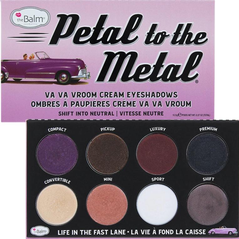 Палетка теней для глаз - theBalm Petal To The Metal Shift Into Neutral