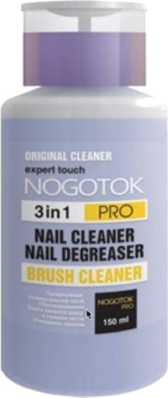 Средство 3в1 для обезжиривания, снятия липкого слоя и очистки кистей - Nogotok Professional Gel
