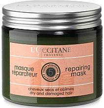 Духи, Парфюмерия, косметика Маска для блеска волос - L'Occitane Aromachologie Repairing Mask