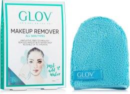 Духи, Парфюмерия, косметика Рукавичка для снятия макияжа, синяя - Glov On-The-Go Makeup Remover