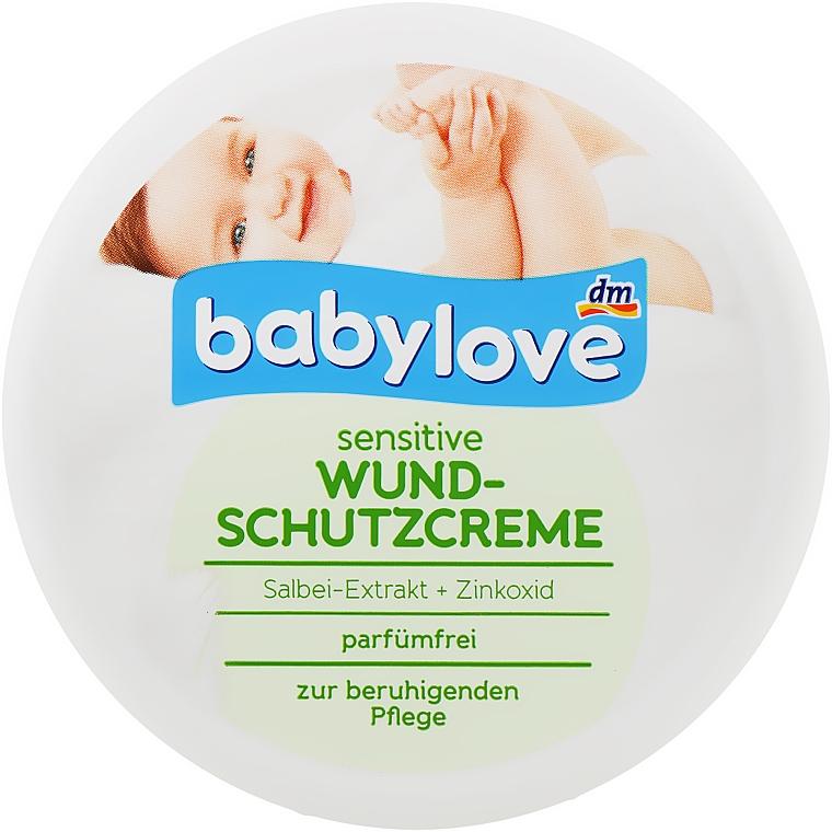 Крем под подгузники - Babylove Sensitive Wund-Schutzcreme