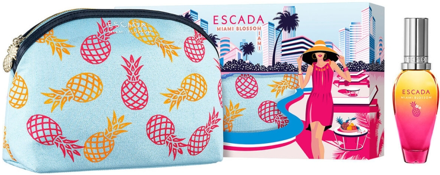 Escada Miami Blossom - Набор (edt/30ml+bag)