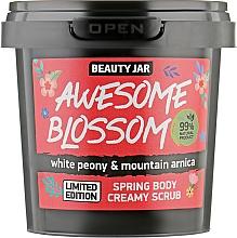 Духи, Парфюмерия, косметика Кремовый скраб для тела - Beauty Jar Awesome Blossom Spring Body Creamy Scrub