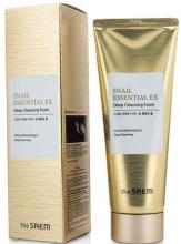 Духи, Парфюмерия, косметика Улиточная пенка для умывания - The Saem Snail Essential EX Deep Cleansing Foam